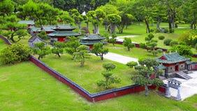 少林寺,瓷复制品  免版税库存图片