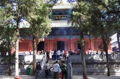少林寺 免版税库存图片