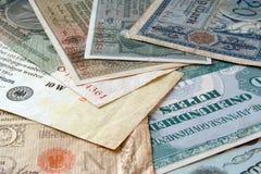 少见的货币 库存照片