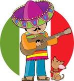 少许墨西哥 免版税库存照片