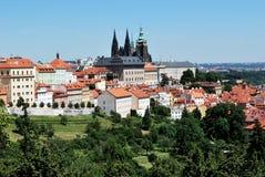 少许布拉格城镇 库存照片