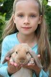 少许我的兔子 免版税库存图片