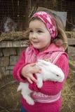 少许我的兔子 库存照片
