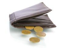少量左货币 免版税库存图片
