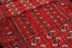 少量手工制造地毯 免版税库存照片