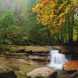 少量水瀑布 图库摄影