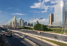 少量的Pinheiros圣保罗巴西 免版税库存照片