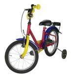 少年自行车 免版税库存照片