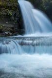 维尔京小河在阿拉斯加落 免版税库存照片