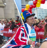 维尔京金钱伦敦马拉松 2016年4月24日 免版税图库摄影
