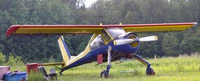 维尔加PZL 104全景 免版税库存照片
