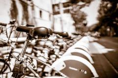 巴尔卡角骑自行车BW 免版税库存照片