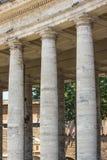 贝尔尼尼梵蒂冈柱廊  免版税图库摄影