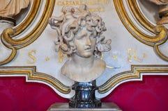 贝尔尼尼的水母在罗马。意大利。 免版税库存图片