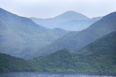 巴尔干最大的dsc湖montenegro skadar索尼 库存图片