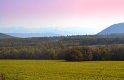 巴尔干11月视图保加利亚 库存照片