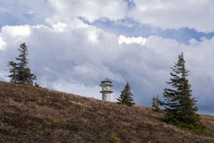 费尔德伯格山在德国 免版税库存图片