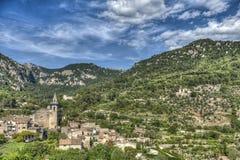 巴尔德莫萨村庄, & x28; 马略卡- Spain& x29; 库存照片