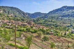 巴尔德莫萨村庄, & x28; 马略卡- Spain& x29; 免版税库存照片