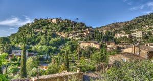 巴尔德莫萨村庄, & x28; 马略卡- Spain& x29; 图库摄影