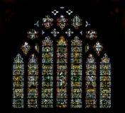 维尔斯大教堂杰西窗口 库存图片