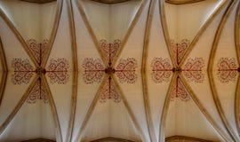 从维尔斯大教堂的内部 免版税库存图片
