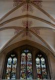 从维尔斯大教堂的内部 库存照片