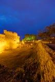 贝尔格莱德堡垒和Kalemegdan公园 免版税图库摄影