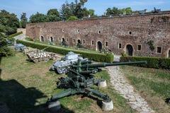 贝尔格莱德堡垒在塞尔维亚 免版税库存照片