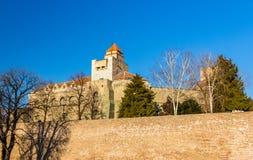 贝尔格莱德堡垒看法  库存照片