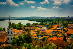 贝尔格莱德塞尔维亚市视图 库存图片