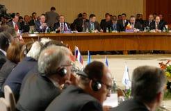贝尔格莱德塞尔维亚 2016年12月13日:Counci的第35次会议 库存图片