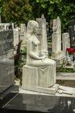 贝尔格莱德孩子公墓 免版税图库摄影