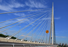 贝尔格莱德桥梁14 库存照片