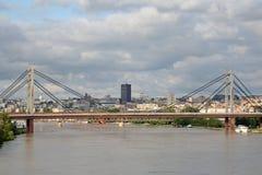 贝尔格莱德河Sava 库存照片