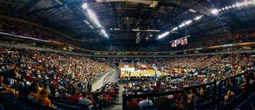 贝尔格莱德篮球比赛 免版税库存图片