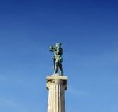 贝尔格莱德胜利纪念碑, Pobednik 库存图片