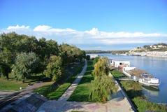贝尔格莱德,塞尔维亚在11月上旬 库存照片