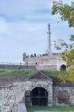 贝尔格莱德Kalemegdan堡垒塞尔维亚 库存图片