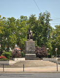 贝尔格莱德Vuk纪念碑 库存图片