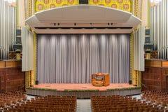 尔湾观众席,宾州大学 图库摄影