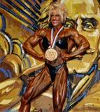 维尔特的Olympia Champion女士 库存图片