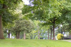 巴尔的摩公园 免版税库存图片