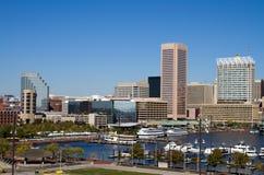 巴尔的摩内在港口 免版税库存照片