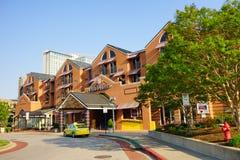 巴尔的摩街市旅馆 免版税库存照片