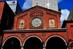 巴尔的摩, MD :1854老圣保罗` s教会 图库摄影
