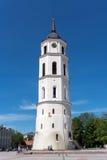 维尔纽斯大教堂 库存图片