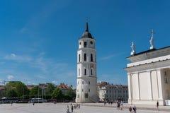 维尔纽斯大教堂 免版税库存图片
