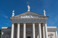 维尔纽斯大教堂 图库摄影