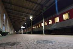 维尔纽斯市在晚上 库存照片